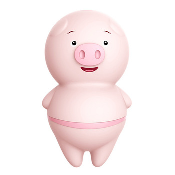 2020 new product women cute sex toy pink pig tongue licking silicone vibrator