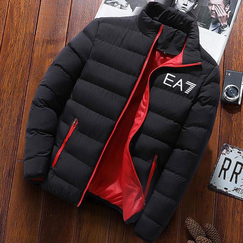 Hot Sale EA7 Brand Men's Spring And Autumn New Aviator Jacket Men And Women Casual Windbreaker Printed Zipper Thin Jacket M-4XL 2