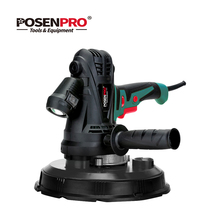 POSENPRO 1280W Drywall Sander Wall Polisher Variable Speed Handheld Sandpaper Dust Hose and Collection Bag LED Light Dust Free 280w random orbit sander with 15 sheets of sandpaper dust exhaust and hybrid dust canister