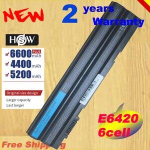 HSW 6cell HXVW 8858X Battery For Dell Latitude E5420 E5430 E6420 E6430 E6520 E5530 M5Y0X HCJWT T54FJ 911MD 4YRJH PR fast shpping