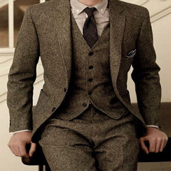 Wedding suit 3 pics  formal costume homme mens dresses tailored models terno masculino marraige suits for men silim traje hombre
