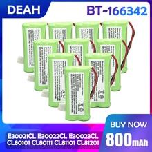 2/4/6/8/10 PCS BT-166342 800mAh AAA Ni-Mh Akku Uniden BT-166342 BT166342 166342 BT-266342 cordless telefon batterie