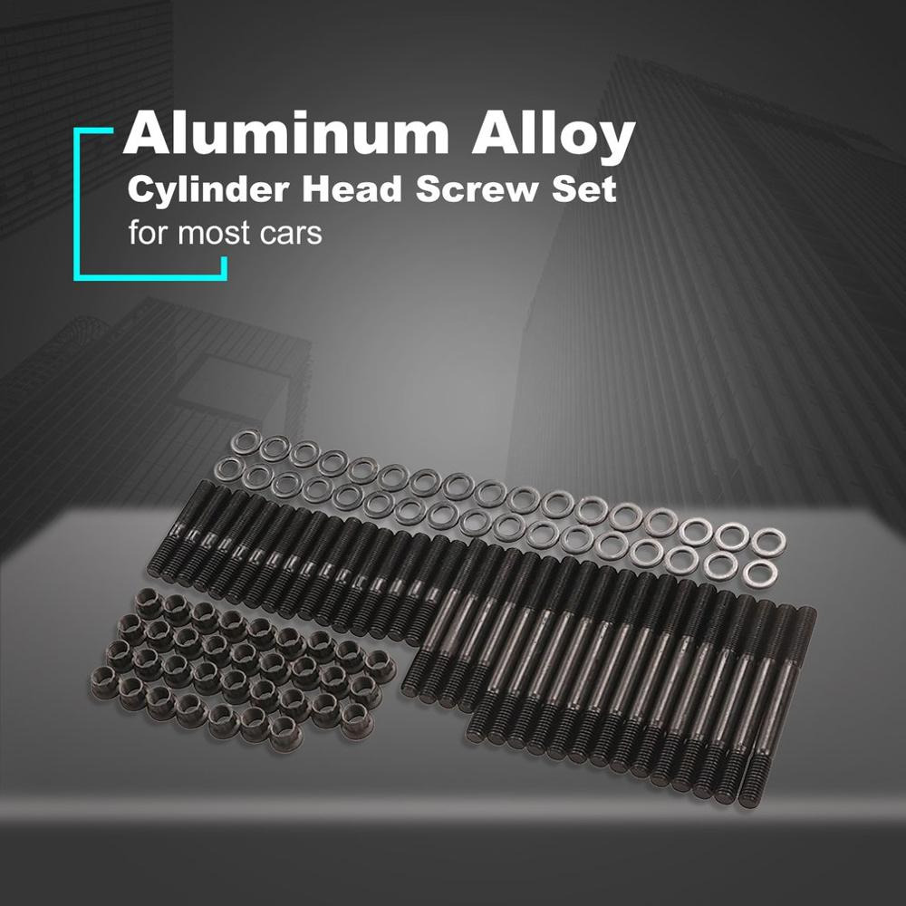 High Quality Cylinder Head Screw Set Car Engine Head Stud Kit Cylinder Gasket Head Studs Set 279.1001 for CHEVY SBC