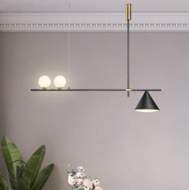 Post-modern Nordic Herringbone Contemporary Pendant Light Living Room Dining Room Dimmable G9 Bulb Hanging Lamps Led Hanging
