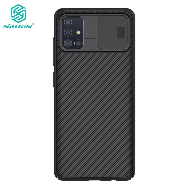 Camera Protection Case For Samsung Galaxy A51 A71 Nillkin Slide Protect Lens Protection Cover for Samsung Galaxy A51 Case|Half-wrapped Cases| |  - title=
