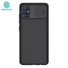 Für Samsung Galaxy A51 Fall Nillkin Slide Kamera Schutz Abdeckung für Samsung Galaxy A71 M51 M31S A42 5G Fall