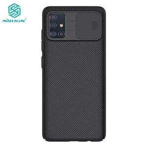 Image 1 - Voor Samsung Galaxy A51 Case Nillkin Slide Camera Bescherming Cover Voor Samsung Galaxy A71 M51 M31S A42 5G Case