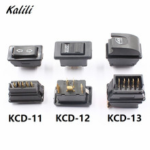 Car Electric Power Window Lifter Controller Control Switch Button 5 pins 20A Switches 12cm sockets