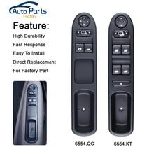 Window Control Switch 6554.KT For Peugeot 307 307CC 307SW/6554.QC Citroen C3 207 CC 6554KT 6554QC