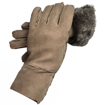 Gloves Winter Women Thick Real Sheepskin 100% Real Fur Mitten Ladies Warm Outdoor Genuine Leather Gloves Female Windproof Gloves women s ladies 100% real leather sheep skin winter warm thick lining white gloves colorful blue cute outdoor short gloves