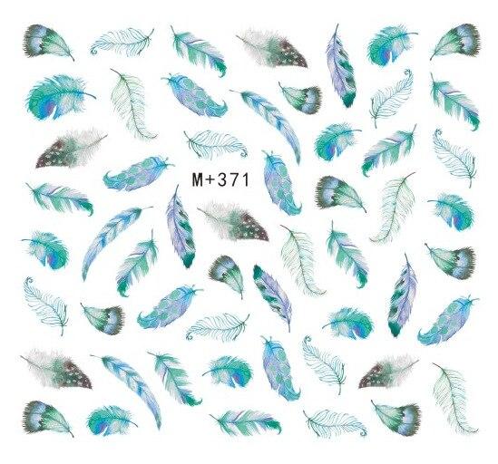 1 шт., наклейки с перьями/звездами/созвездиями, переносит гвоздь для женщин, Слайдеры для самостоятельного декора ногтей, 3d-наклейка для мани...