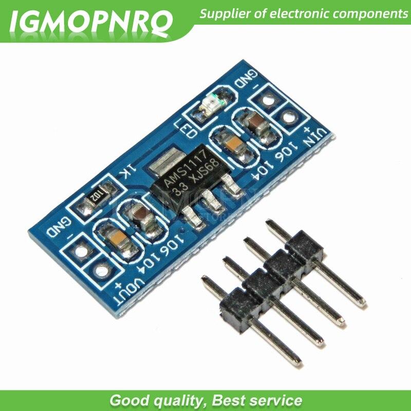 10pcs AMS1117 3.3V power supply module AMS1117-3.3 power module AMS1117-3.3V IGMOPNRQ