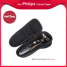цена на Universal Travel Waterproof EVA Hard Protective Case for All Series of Philips S,RQ Two Heads,AT,FT,HQ,RQ Three heads S5000