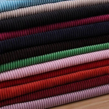 Corduroy Fabric Good Quality Soft Skin-friendly Ribs Solid 50*145cm for Jacket Cap Overalls