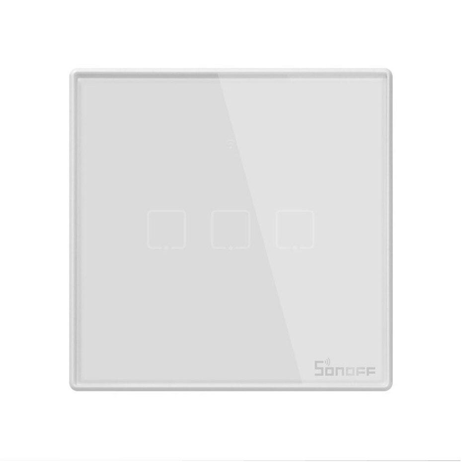 Image 4 - Nowy Sonoff T2 UK inteligentne wifi RF433/aplikacja ewelink/sterowanie dotykowe przełącznik ścienny 1/2/3 Gang, aktualizacja z Sonoff T1, dla Alexatouch control switchtouch wall light switchswitch 1 gang -