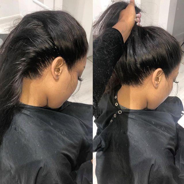 Pelucas de cabello humano 360 de encaje completo preplucke para mujeres negras Hd pelucas largas brasileñas peluca con malla Frontal 360 peluca Frontal de encaje