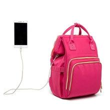 Многофункциональный водонепроницаемый рюкзак для мам вместительная