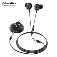Bluedio li pro fone de ouvido com fio 7.1 placa de som virtual fone de ouvido estéreo de alta fidelidade microfone embutido fone de ouvido magnético para o telefone pc