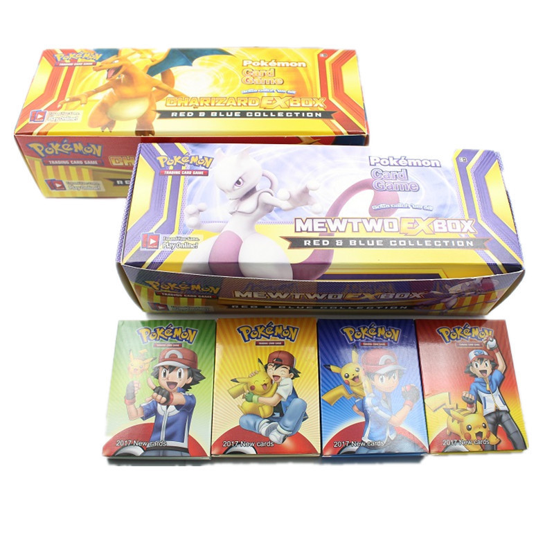 408 Sheets / Box Of The Latest Sun And Moon Pokemon English Card Game Card The Toy Of Children Game Card