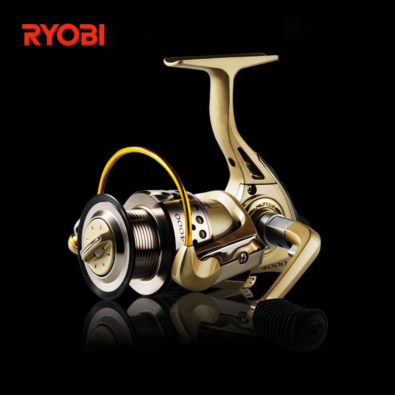 <font><b>RYOBI</b></font> Condor spin reel 1000/2000/<font><b>3000</b></font>/4000 6BB metal long-distance carbon fishing reel gear ratio 5.1:1 image
