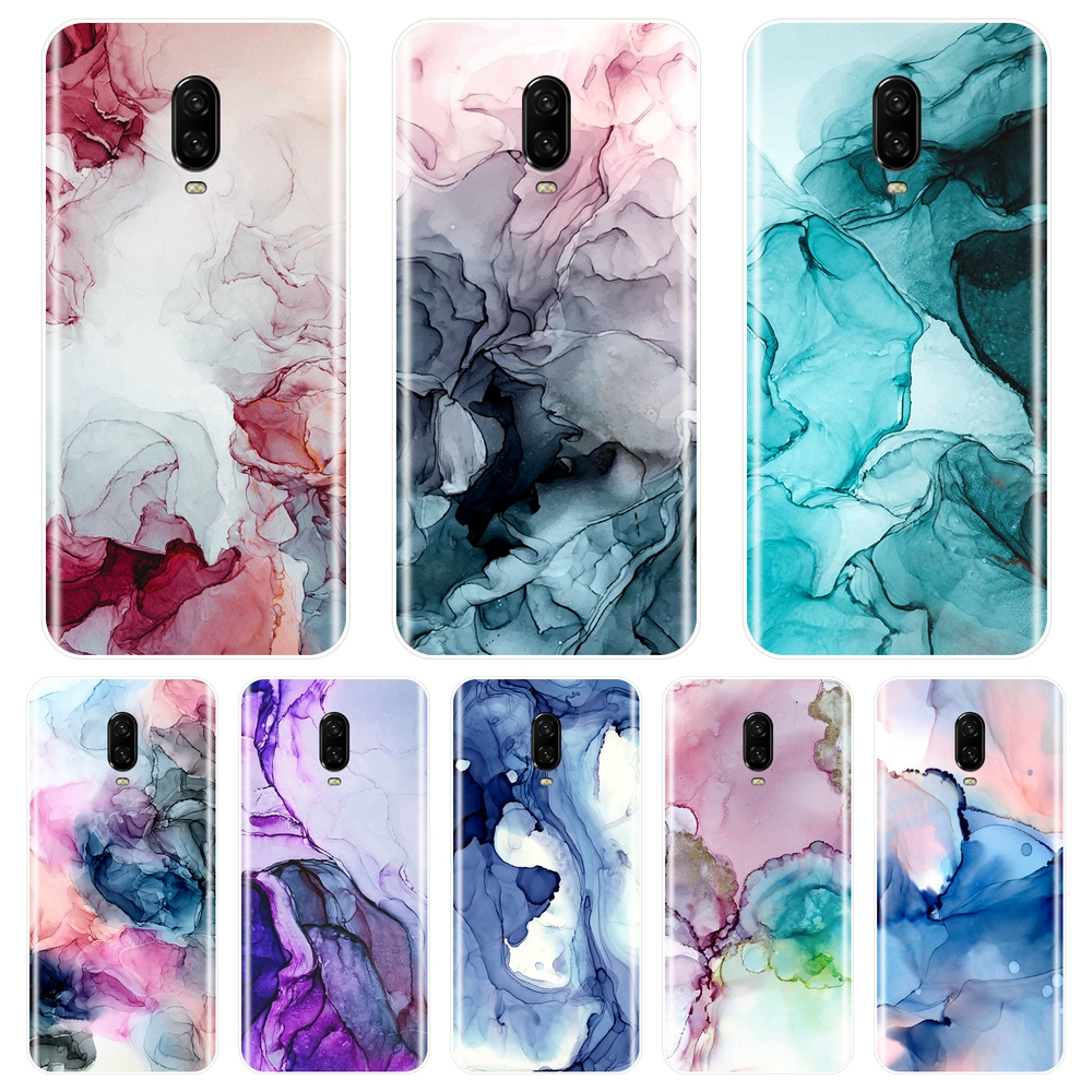 Marble Art Aesthetic Purple Red <font><b>Phone</b></font> <font><b>Case</b></font> For <font><b>One</b></font> <font><b>Plus</b></font> 3 3T 5 5T <font><b>6</b></font> 6T Silicone Soft Back Cover For OnePlus 3 3T 5 5T <font><b>6</b></font> 6T <font><b>Case</b></font> image