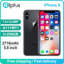Original Verwendet Apple iPhone X 3GB RAM 64GB 256GB ROM 5.8