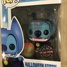 Эксклюзивная официальная Funko поп Стич Хэллоуин Виниловая фигурка Коллекционная модель игрушки с оригинальной коробкой