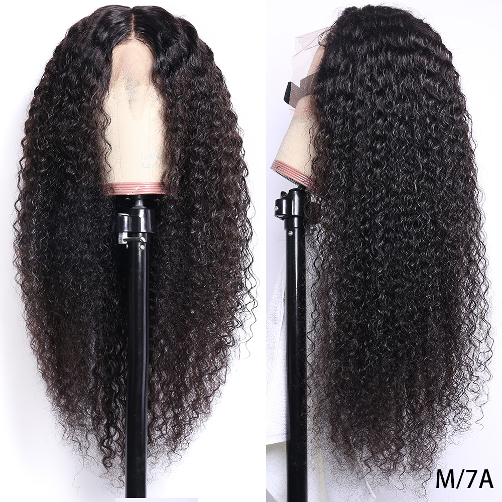 Deep Wave Wig 13x4 Lace Front Human Hair Wigs Pre-Plucked 150% Density 8