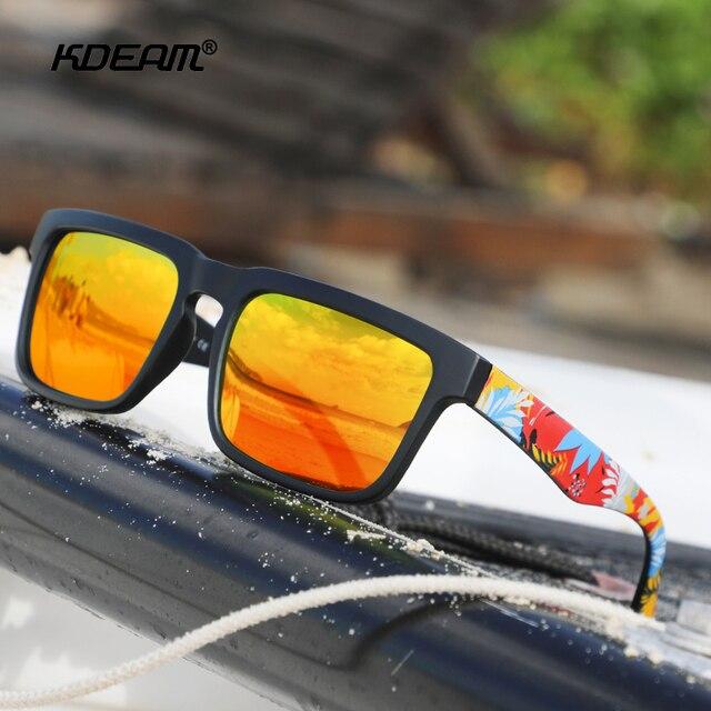 KDEAM Ultralight Mirror Polarized Sunglasses - UV400 3