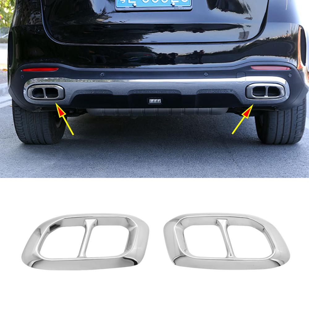 Accessories For Mercedes Benz GLE W166 Coupe C292 Tail Pipe Exhaust Muffler Kit