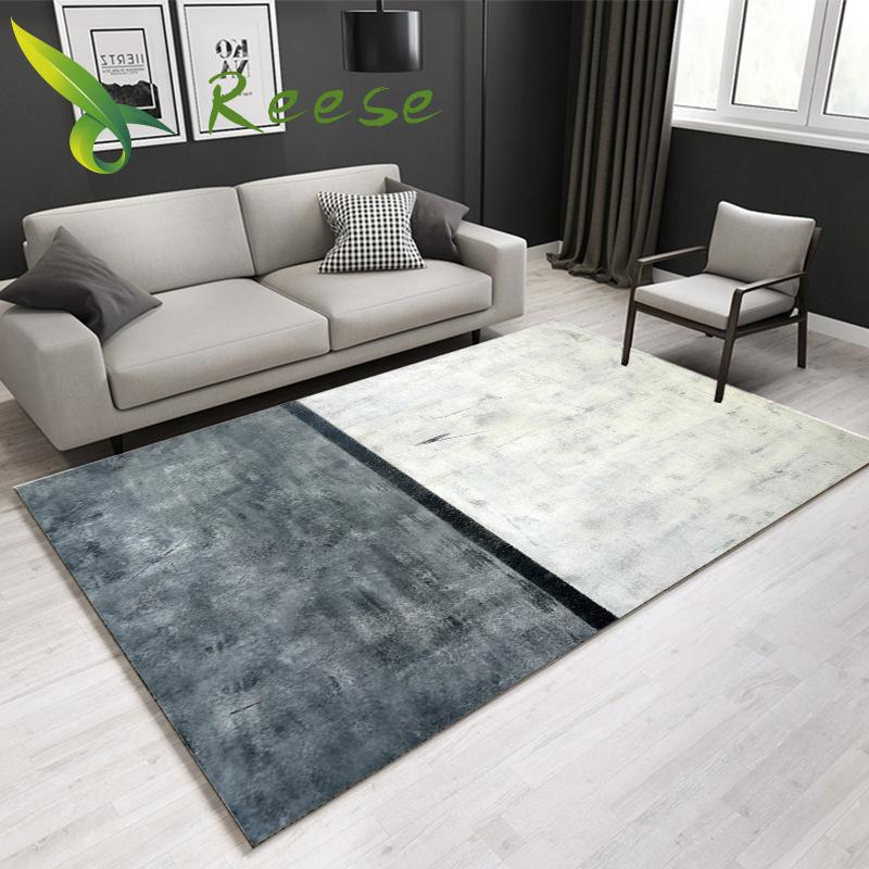 Carpet Abstract Ink Painting Non Slip For Room Entrance Bedroom Kitchen Bathroom Washable Mildew Proof Safety Floor Protection