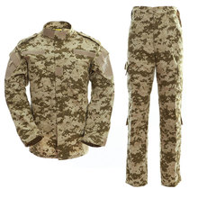 Russia Desert Military Uniform Camouflage Suit Tatico Tactical Garment Airsoft Equipment CS Game Paintball Clothes