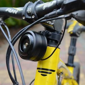 Image 3 - 1600mAh Bicycle Bell Electric Ring Remote Bike Horn Alarm USB Charging Loud Sound Waterproof BMX MTB Safe Anti theft Bike Alarm