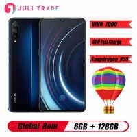 "VIVO IQOO 6GB 128GB Snapdragon855 Octa Core Android9 Smartphone 12MP + 13mp + 2MP Cámara 6,41 ""completo pantalla NFC teléfono móvil"