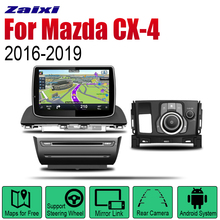 ZaiXi Android 2 Din Auto Radio DVD For Mazda CX-4 2016~2019 Car Multimedia Player GPS Navigation System Radio Stereo android 8 car dvd player gps navigation for mazda cx 7 2008 2015 multimedia headunit stereo tape recorder 2 din radio