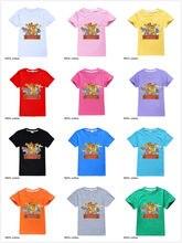 Kinder Kleidung T-shirts Cartoon Der König der Löwen Schutz Simba Print Top Tee Baby Junge Mädchen Kurzarm T-Shirt Kleinkind kostüme