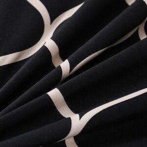 Image 2 - LOVINSUNSHINE Luxuryชุดเครื่องนอนSuper Kingผ้านวมชุดหินอ่อนเดี่ยวQueenขนาดสีดำผ้านวมคลุมเตียงผ้าปูที่นอนผ้าฝ้ายXx14 #