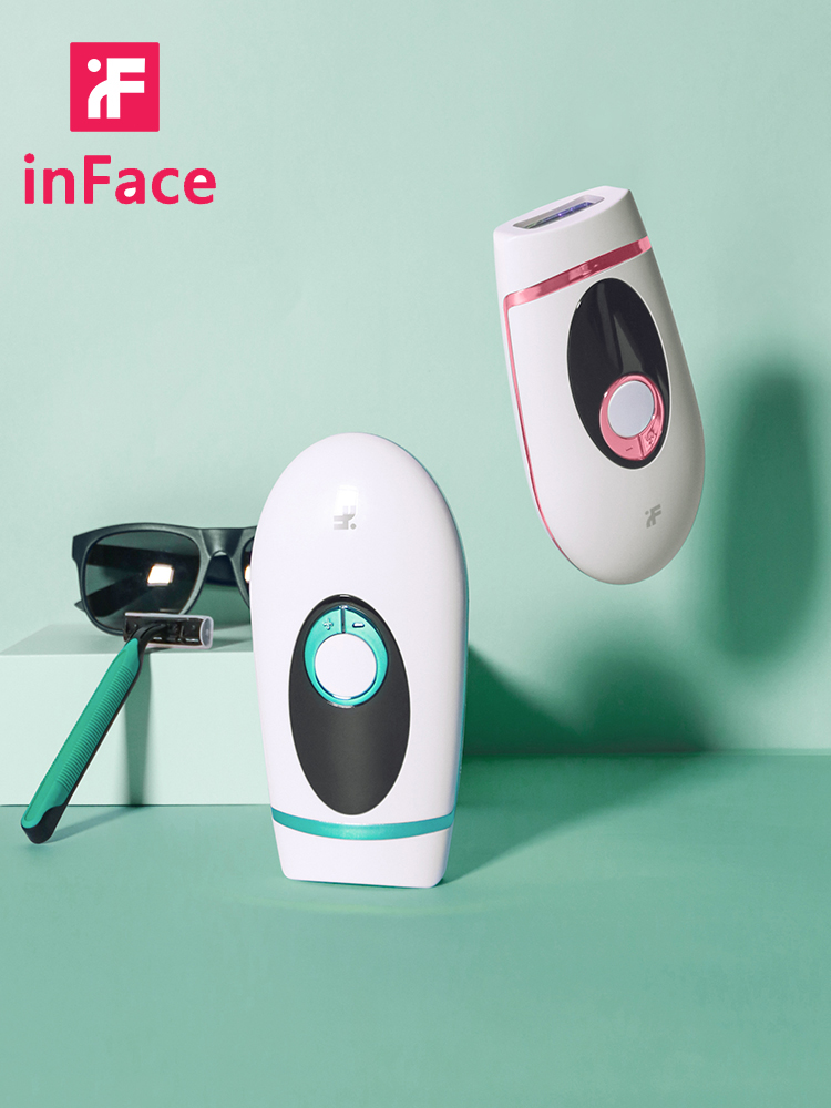 Inface IPL Epilator Hair-Removal Laser 900000 Flash Permanent-Painless Electric Whole-Body