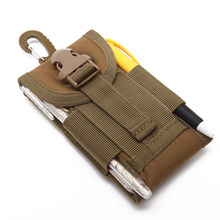 Holder Universal Outdoor Pouch Belt Tactical Bag Mobile Phone Hook Cover Waterproof Case Cellphone Army(China)