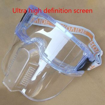 2020 New Anti Splash Face Shield UV Protection Sun Visor Adjustable Full Mouth Mask - discount item  25% OFF Workplace Safety Supplies