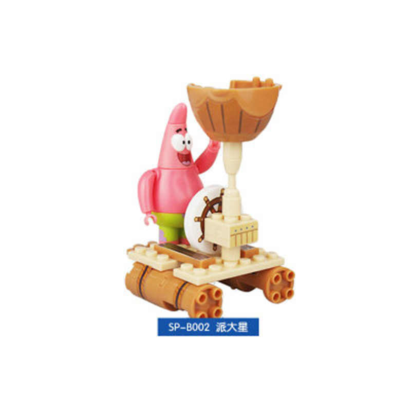 سبونجبوب حزمة تويست البيض اللبنات تجميعها لعبة الأناناس منزل بناء لعبة المكعبات متوافق مع Legoinglys التعليم