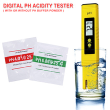цена на 2 Type PH Meter Digital Water Quality Monitor Tester for Pool/Drinking/Aquarium PH 0-14/0.01 Measure Wine Automatic Calibration
