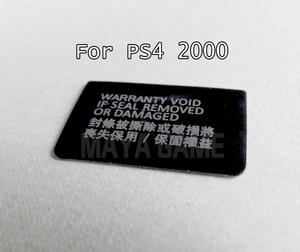 Image 4 - Cho PS4 Slim Console Nhãn Dán Nhà Ở Chải Hình Lable Hải Cẩu Dành Cho Ps4 2000 Tay Cầm 50 Chiếc