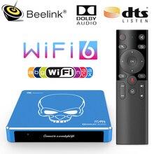 2021 apagado Beelink GT Pro rey WiFi 6 TV BOX Amlogic S922X-H Quad Core Android 9,0 4GB 64GB 4K Dolby Audio DTS BT5 1000M Dispositivo de TV inteligente