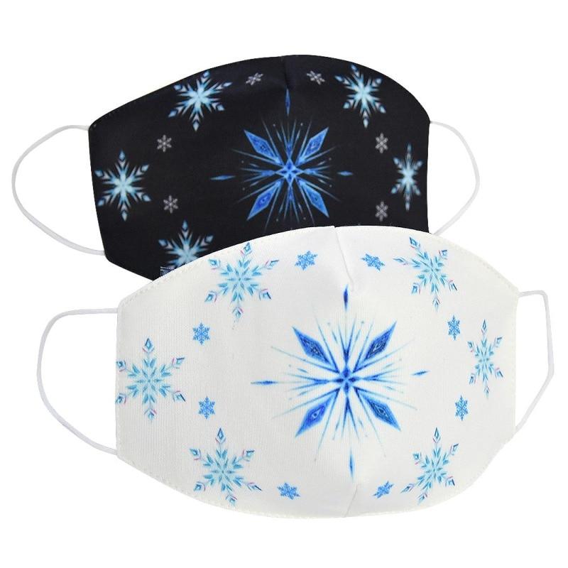2020 Anti-Dust Haze PM2.5 Breathable Masks Women Men Kids Snowflake Pattern Cotton Mouth-muffle ZXT219