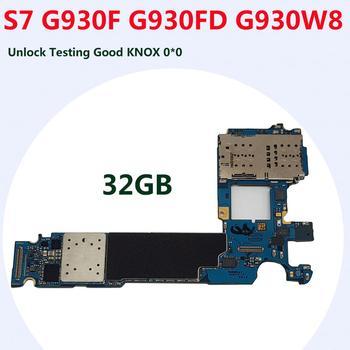 Płyta główna zamiennik dla Samsung Galaxy S7 G930F G930FD G930W8 G930P fabryka odblokować płyty głównej Andorid logiki pokładzie tanie i dobre opinie Tehxv Wewnętrzny For Samsung Galaxy S7 G930F G930FD Full QC Tested 32GB Used and Good Working