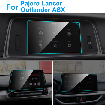 Car GPS Navigation Screen Protector for Mitsubishi Pajero Outlander Lancer ASX Interior Screen Protective Film Auto Accessories image