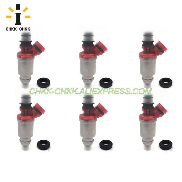 CHKK-CHKK 195500-5690 MD323733 fuel injector for MITSUBISHI MONTERO 1997 3.5L V6