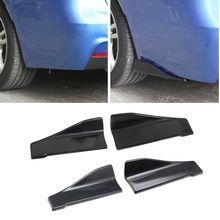 2pcs/set Universal Car Rear Bumper Lip Angle Splitter AUTO Decor Accessories