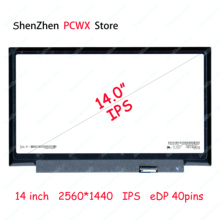 14.0 Laptop LCD Screen for Lenovo thinkpad t480 t480i Resolution 2560×1440 LP140QH1-SPB1 Notbook n140hce en1 rev c2 fhd led lcd screen ips display panel replacement for lenovo thinkpad t480